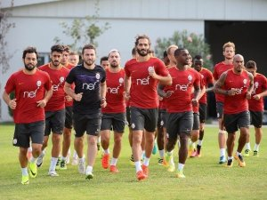 Galatasaray Çift Antrenman Yaptı