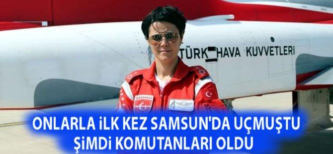 Samsun'da Türk Yıldızları İle Gösteri Yapan Hava Pilot Binbaşı Esra Özatay Filo Komutanı Oldu