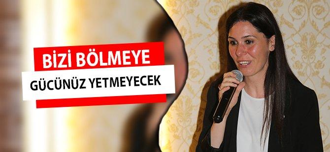 """AK Parti Genel Başkan Yardımcısı Karaaslan;  """"Bizi Bölmeye Gücünüz Yetmeyecek"""""""