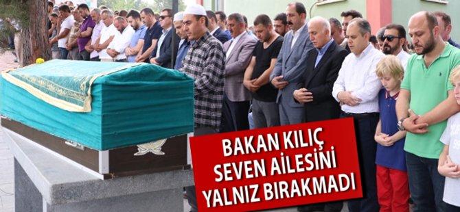 Bakan Çağatay Kılıç Ali Seven'in Cenaze Törenine Katıldı