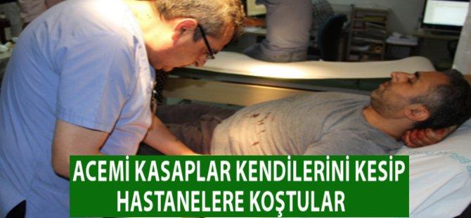 Samsun'da Acemi Kasaplar Hastanelerin Acil Servislerini Doldurdular