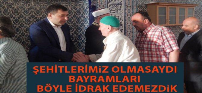 """Samsun Milletvekili Hasan Basri Kurt; """" Şehitlerimiz Olmasaydı Bayramımız Olmazdı"""""""