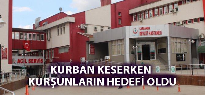 Samsun'da Maganda Kurşunu Bir Kişiyi Hastanelik Etti