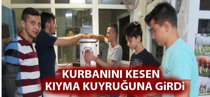 """Samsun'da Kasap ve Şarküterilerde """"Kıyma"""" Mesaisi"""