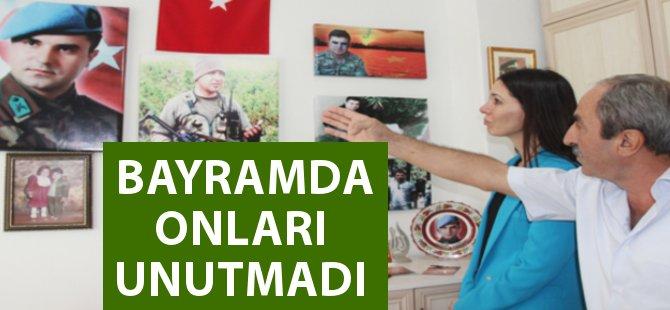 Samsun Milletvekili Karaaslan Yaşlıları ve Şehit Yakınlarını Ziyaret Etti