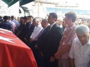 Durağan'daki Olaylarda Ölen Genç Toprağa Verildi