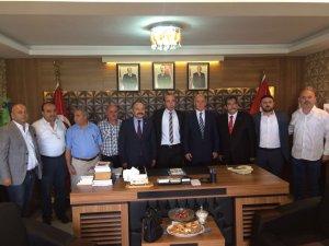 MHP Samsun İl Başkanlığı'nda Bayram İzdihamı