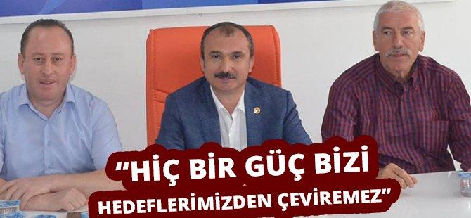 """AK Parti Samsun Milletvekili Kırcalı, """"Hiç Bir Güç Bizi Hedeflerimizden Çeviremez"""""""