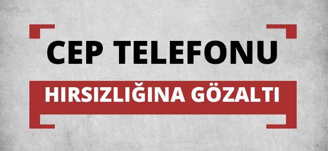Samsun'da Cep Telefonu Hırsızlığına Gözaltı