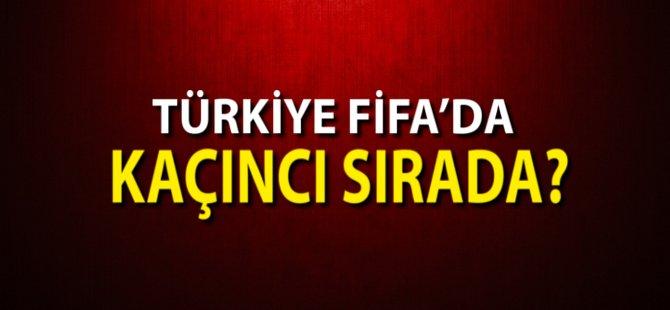 Türkiye FİFA'da Kaçıncı Sırada?