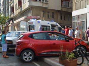 Samsun'da Trafik Kazası 2 Yaralı