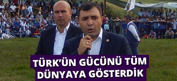 """AK Parti Samsun Milletvekili Kurt;  """"15 Temmuz Gecesi Türk'ün Gücünü Tüm Dünyaya Gösterdik"""""""