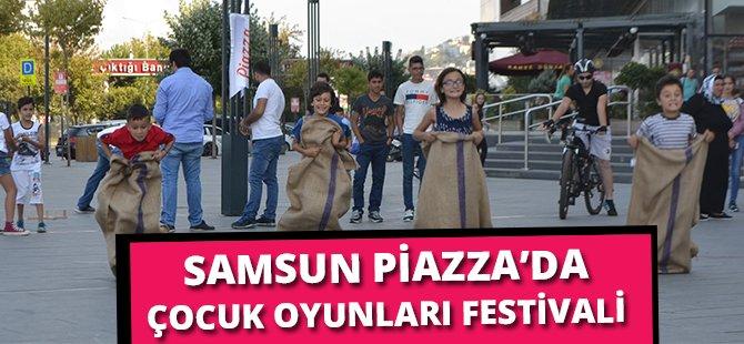 """Minik Samsunlular Bayramı """"Çocuk Oyunları Festivali""""nde Kutladı"""