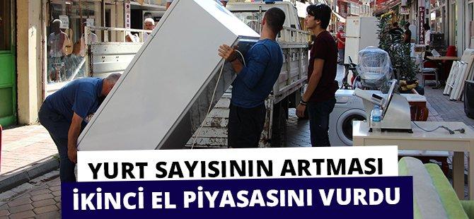 Samsun'da Yurt Sayısının Artması İkinci El Piyasasını Vurdu