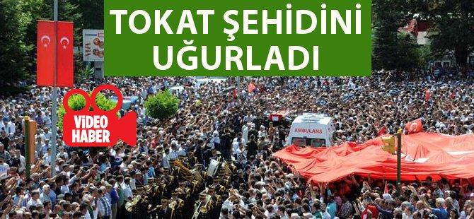 Şehit Uzman Çavuş Akatay'ı Memleketi Tokat'ta 5 Bin Kişi Uğurladı