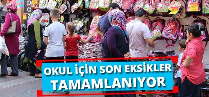 Samsun'da Okul İçin Son Eksikler Tamamlanıyor