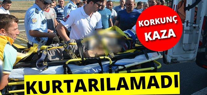 Samsun-Ordu Karayolu'nda Otomobilin Çarptığı Yaya Hayatını Kaybetti