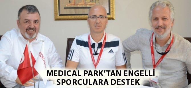 Medical Park Samsun Hastanesi'nden Engelli Sporculara Destek