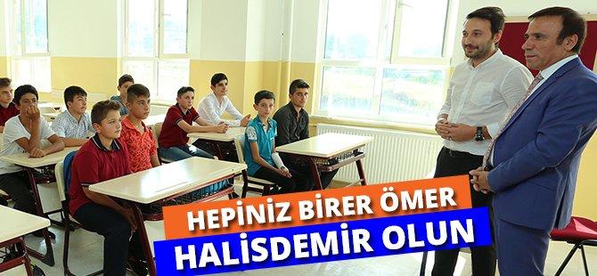 Samsun'un Canik İlçe  Belediye Başkanı Genç; 'Hepiniz Birer Ömer Halisdemir Olun'
