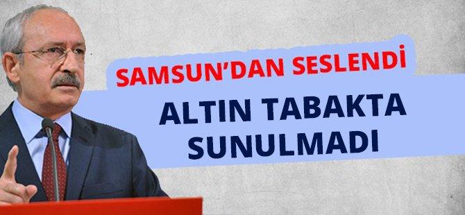 """CHP Genel Başkanı Kılıçdaroğlu: """"Cumhuriyet Altın Tabakta Bize Sunulmadı"""""""