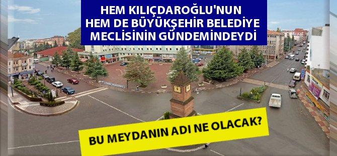 Samsun Terme Cumhuriyet Meydanı'nın Adı Polemik Konusu Oldu