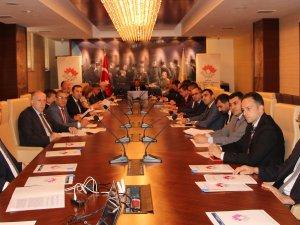 Samsun'da İlk KUSİ Değerlendirme Toplantısı Yapıldı