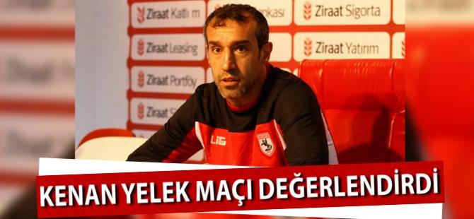 Samsunspor Teknik Direktörü Kenan Yelek Samsunspor-Diyarbakırspor Maçını Değerlendirdi