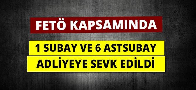 Samsun'da FETÖ Soruşturmasında 1 Subay ve 6 Astsubay Adliyeye Sevk Edildi