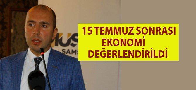 """Samsun MÜSİAD'dan """"Ekonomi Sohbetleri"""""""