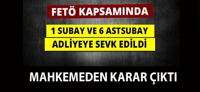 Samsun'da FETÖ'den Gözaltına Alınan Askerler İçin Karar Çıktı