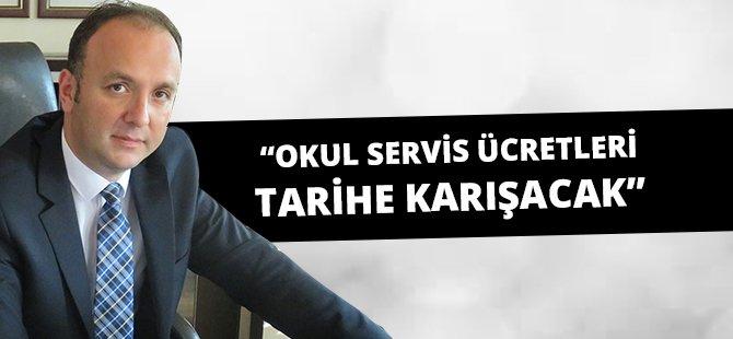 CHP Samsun İl Başkanı Av.Tufan Akcagöz Okul Servis Ücretlerini Tarihe Karıştıracaklarını İddia Etti