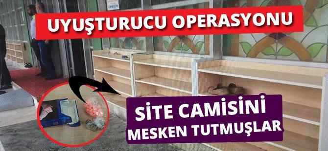 Samsun'da Uyuşturucu Satıcıları Camiyi Mesken Tutumuş