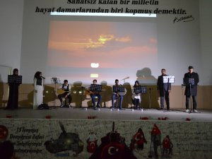 Samsun'da 15 Temmuz Şehitleri Anma Programı