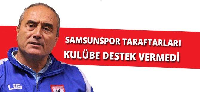 """Samsunspor Futbol Şube Sorumlusu Ateş; """"Bu Acı Bir Durumdur"""""""