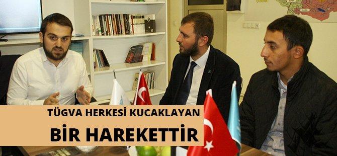 TÜGVA Genel Başkan Yardımcısı Kır, Samsun Temsilciliğini Ziyaret Etti