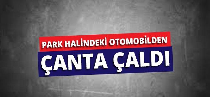 Samsun'da Park Halindeki Otomobilden Çanta Çalan Kadın Yakalandı