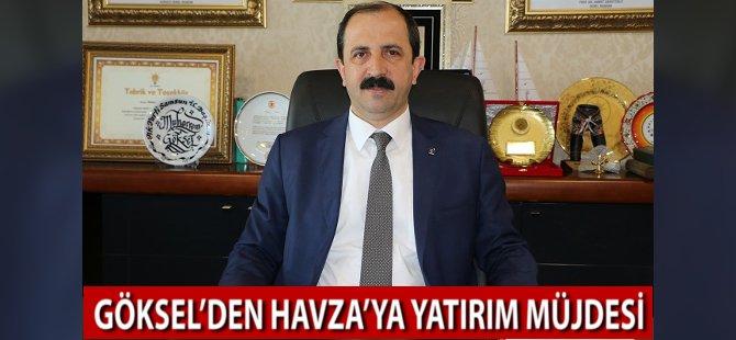 AK Parti Samsun İl Başkanı Muharrem Göksel'den Havza'ya Yatırım Müjdesi