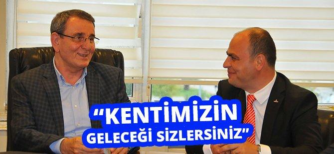 """Samsun TSO Başkanı Murzioğlu; """"Kentimizin Geleceği Sizlersiniz"""""""