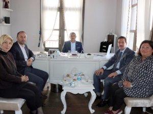 AK Parti Samsun Milletvekili Fuat Köktaş, Samsun Olgunlaşma Enstitüsü'nü Ziyaret Etti