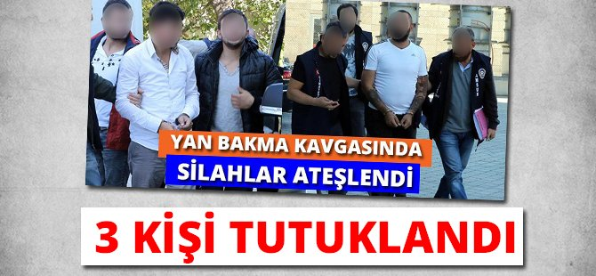 Samsun'da Silahlı Çatışmaya 3 Tutuklama