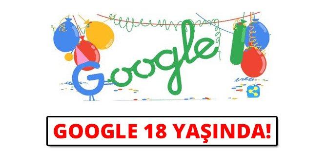 Google 18 Yaşında!
