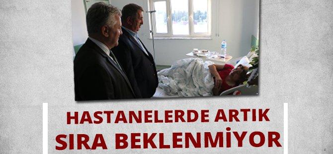 """AK Parti Samsun Milletvekili Köktaş;  """"Bugün Hastanelerimizde Sıra Beklenmiyor"""""""