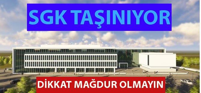 Yeni Binası Tamamlanan Samsun SGK İl Müdürlüğü Taşınıyor