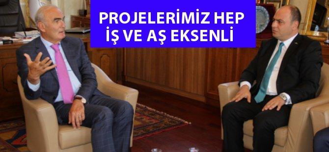 """Samsun Büyükşehir Belediye Başkanı Yusuf Ziya Yılmaz; """" Gündemimde Hep İş ve Aş Oldu"""""""