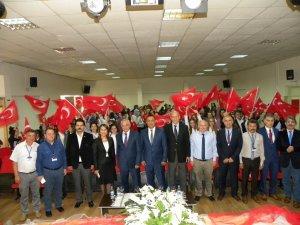 Samsun'da Lisede Şehitleri Anma Programı