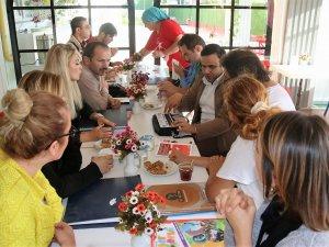 """Samsun'da """"Engelli Sporcular Kitap Okuyor"""" Etkinliği"""