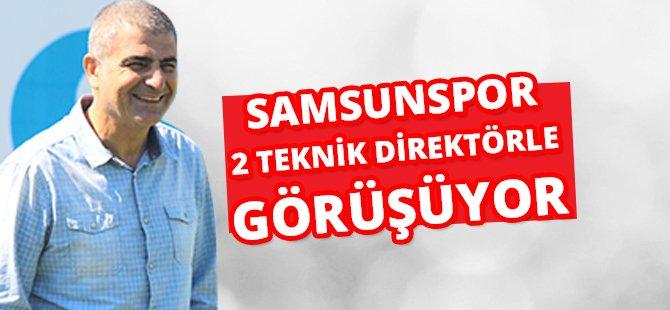 """Samsunspor'un Sportif Direktörü Zeren; """"Samsunspor 2 Teknik Direktörle Görüşüyor"""""""
