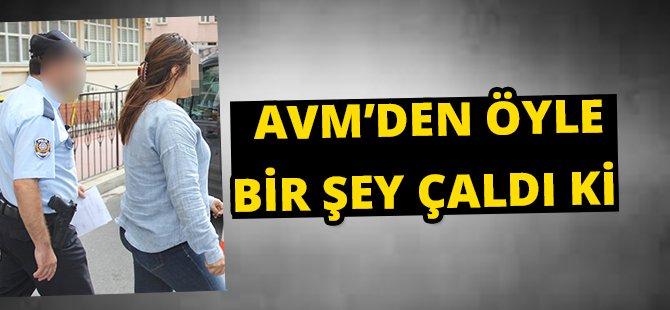 Samsun'da AVM'den Hırsızlık Zanlısı Yakalndı