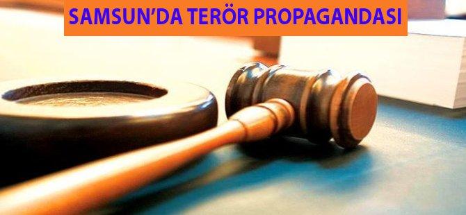 Samsun'da Terör Propagandasına 1 Yıl 11 Ay 12 Gün Hapis Cezası
