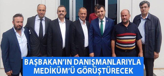 """AK Parti Samsun Milletvekili Hasan Basri Kurt: """"Başbakanımızın Danışmanlarıyla MEDİKÜM'ü Görüştüreceğiz"""""""